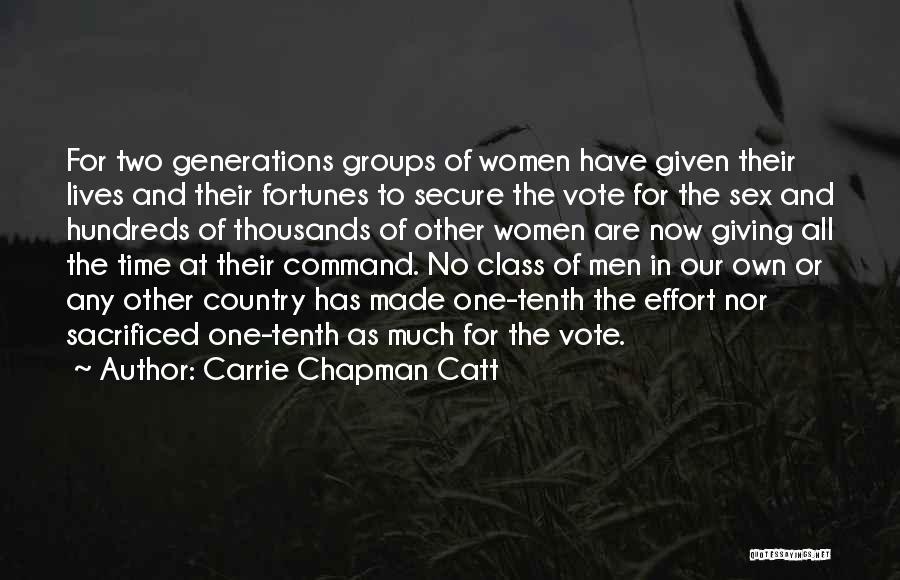 Carrie Chapman Catt Quotes 1241291