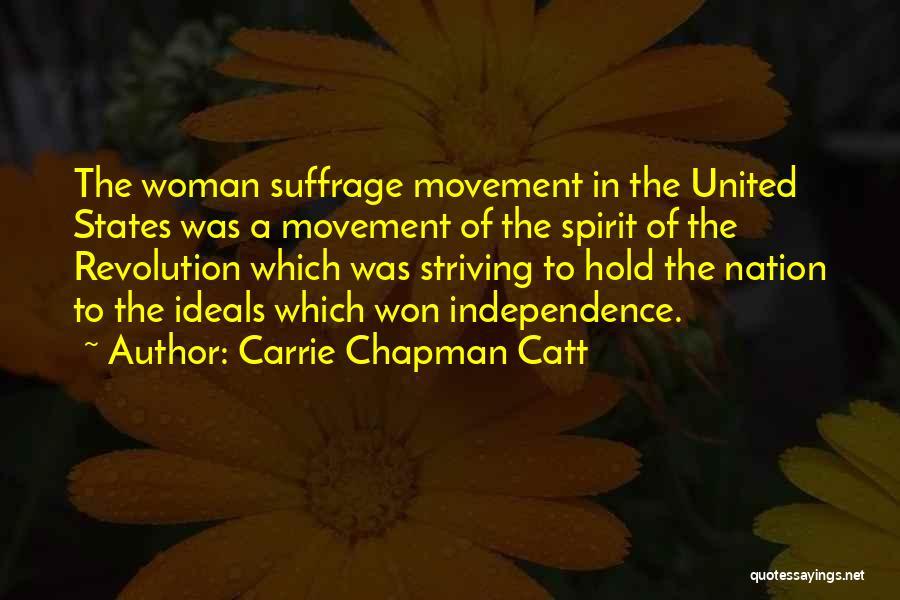 Carrie Chapman Catt Quotes 1272148