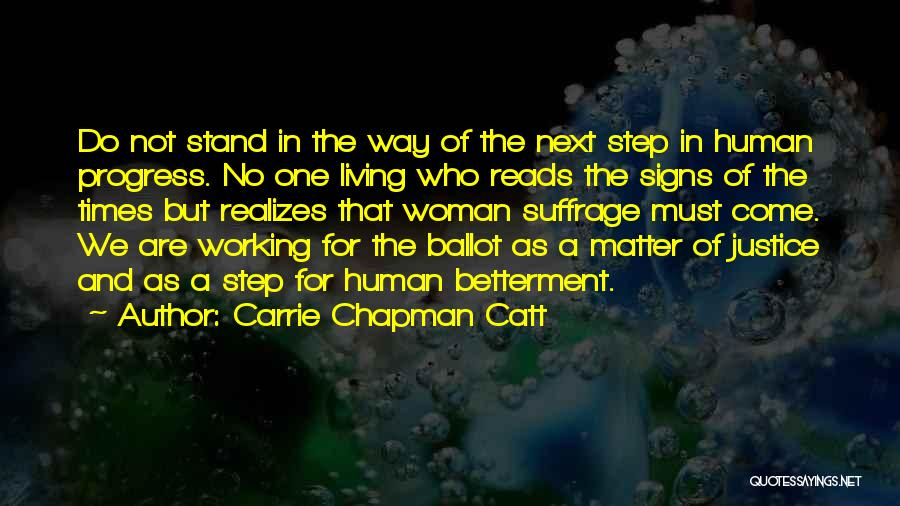 Carrie Chapman Catt Quotes 1389084