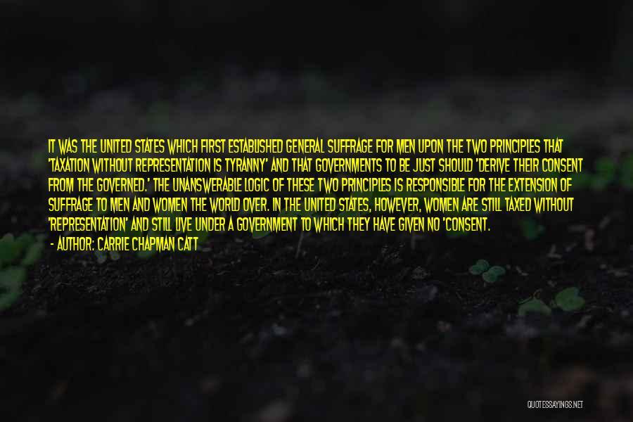 Carrie Chapman Catt Quotes 1498350