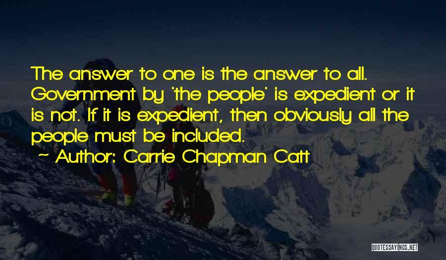 Carrie Chapman Catt Quotes 2201988