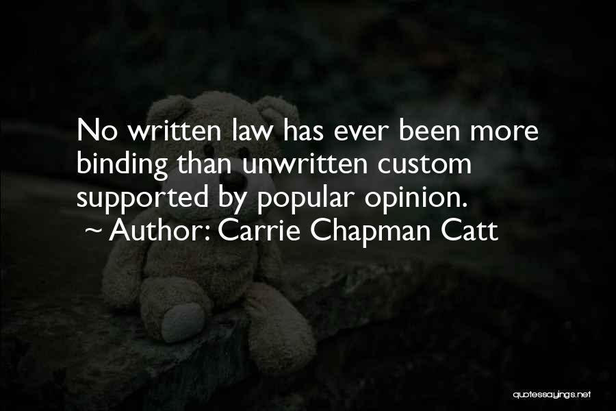 Carrie Chapman Catt Quotes 543597