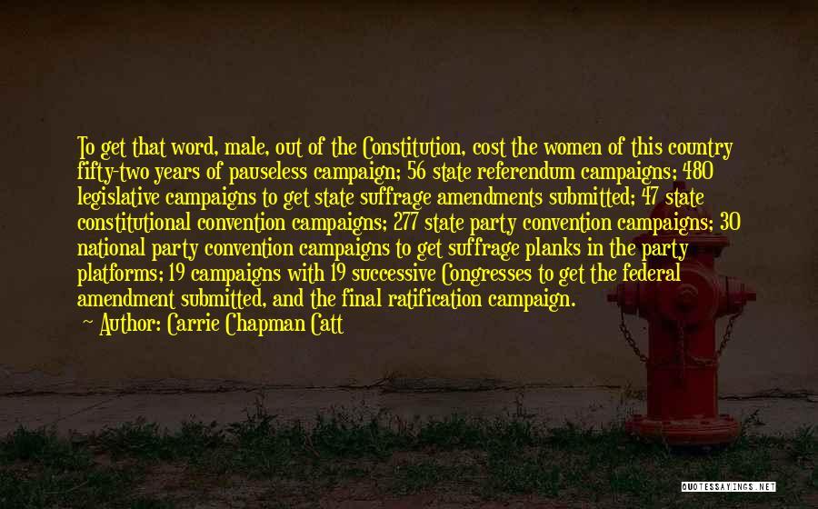 Carrie Chapman Catt Quotes 97494