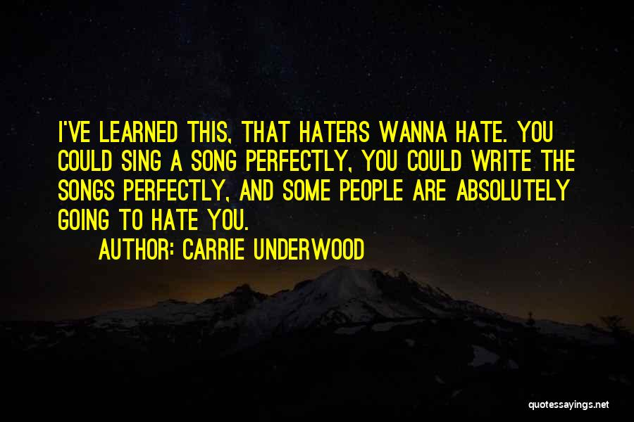 Carrie Underwood Quotes 528674