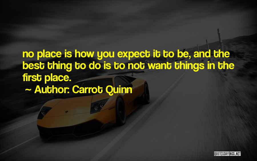 Carrot Quinn Quotes 255474