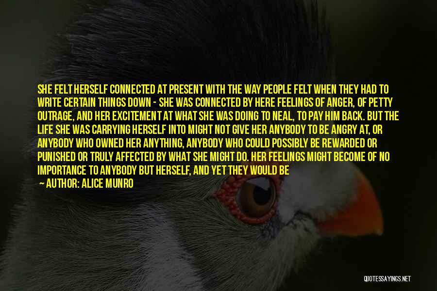 Carrying Someone In Your Heart Quotes By Alice Munro