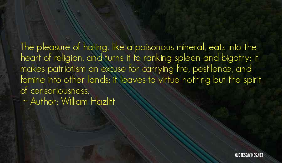 Carrying Someone In Your Heart Quotes By William Hazlitt