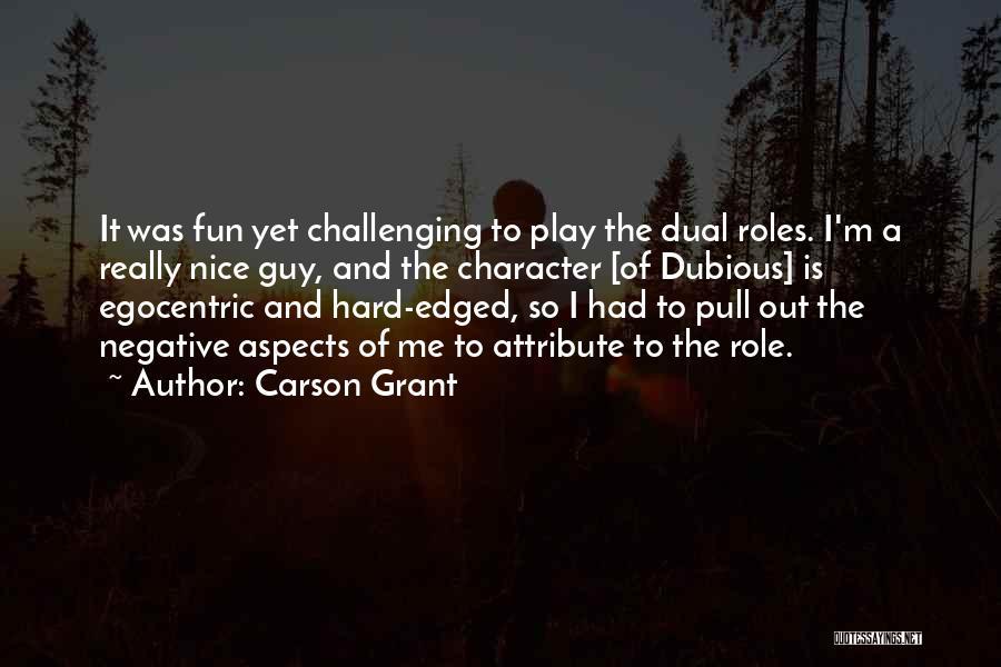 Carson Grant Quotes 476063
