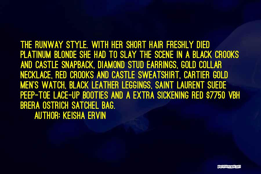 Cartier Watch Quotes By Keisha Ervin