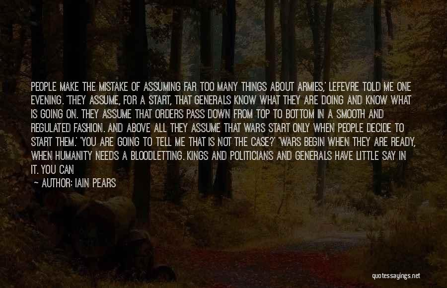 Case Of You Quotes By Iain Pears