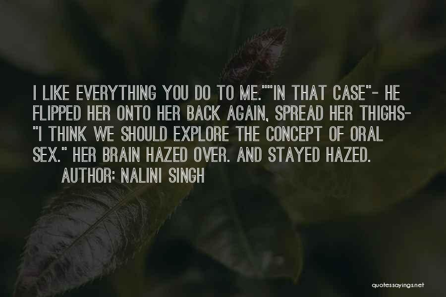Case Of You Quotes By Nalini Singh