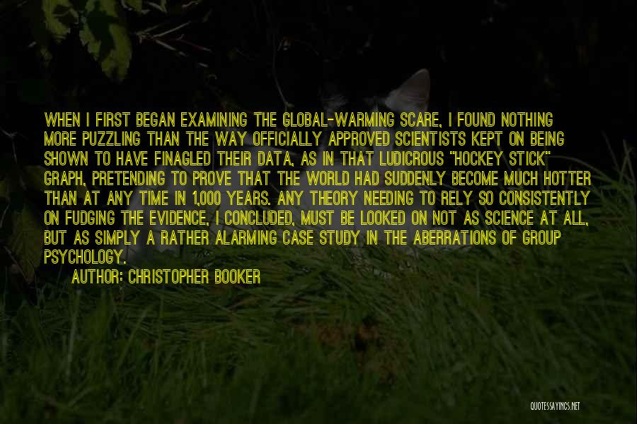 Case Study Quotes By Christopher Booker
