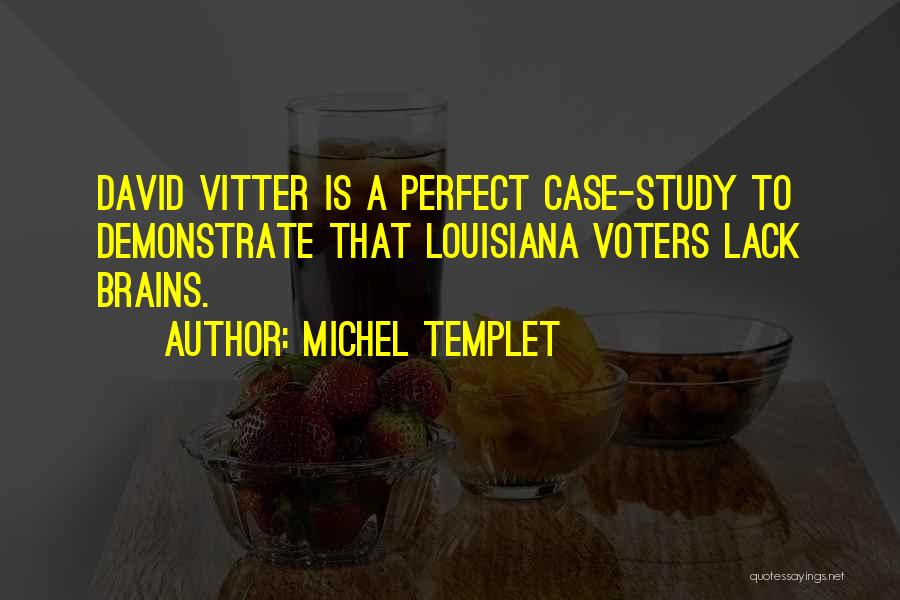 Case Study Quotes By Michel Templet