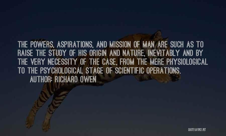 Case Study Quotes By Richard Owen