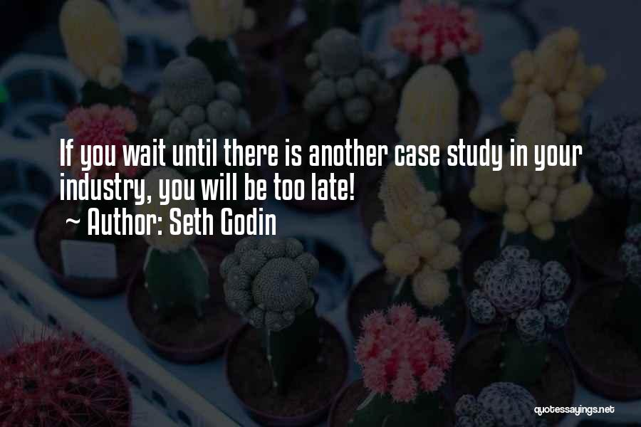 Case Study Quotes By Seth Godin