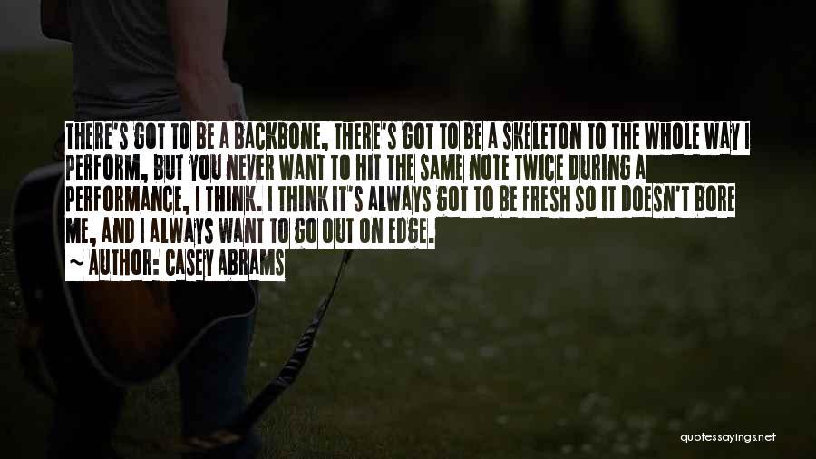 Casey Abrams Quotes 1931682