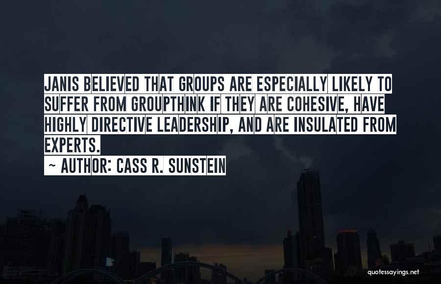 Cass R. Sunstein Quotes 1021449