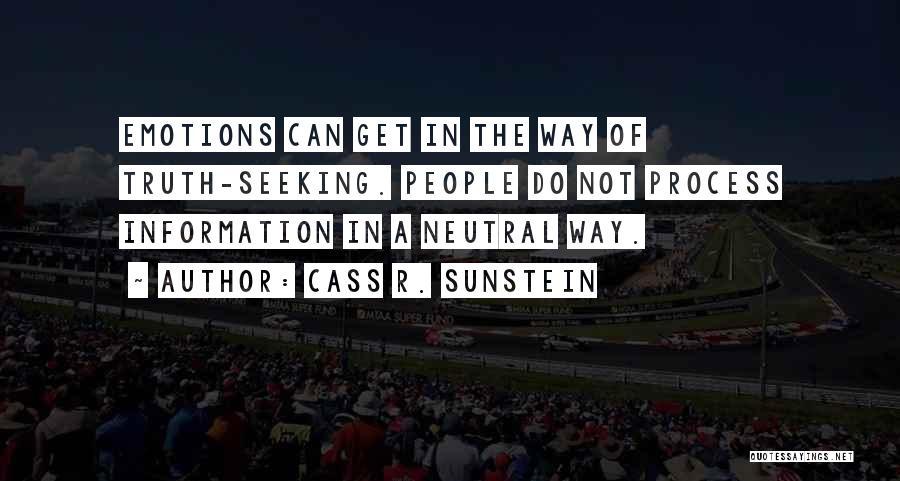 Cass R. Sunstein Quotes 1483641