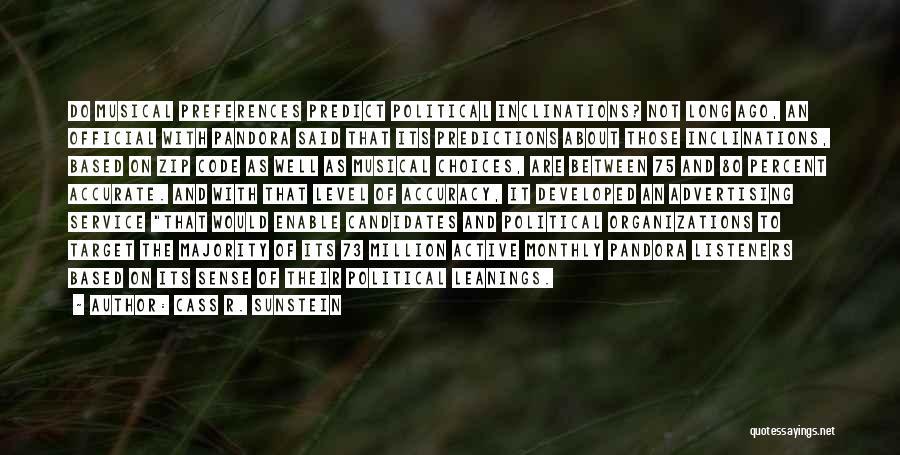 Cass R. Sunstein Quotes 1838577