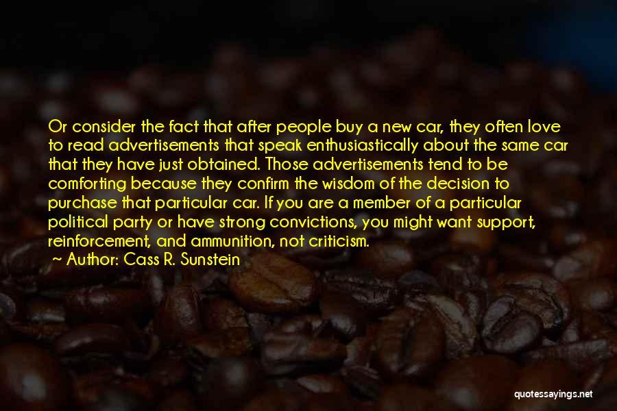 Cass R. Sunstein Quotes 229884