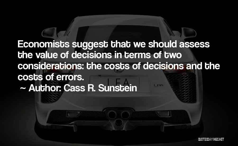 Cass R. Sunstein Quotes 420757