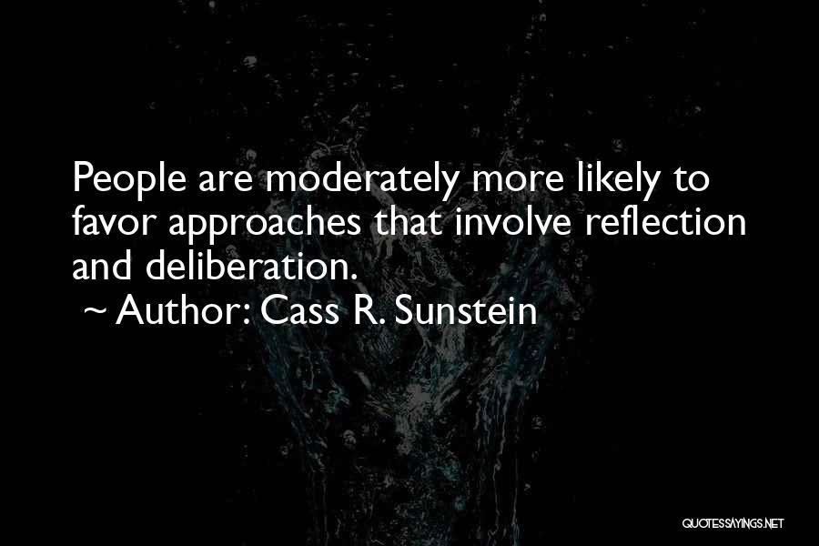 Cass R. Sunstein Quotes 735375