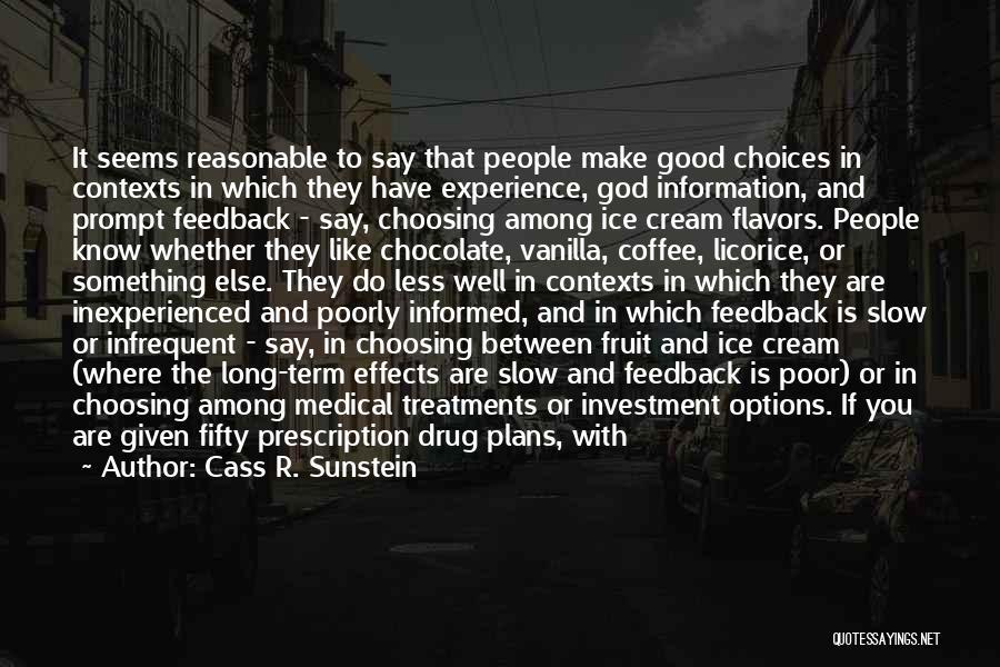 Cass R. Sunstein Quotes 808747