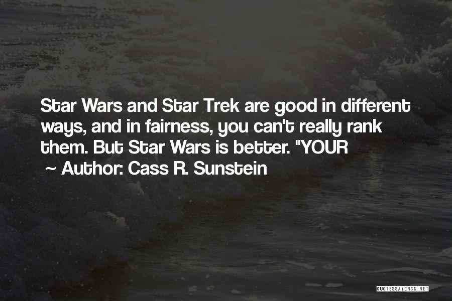 Cass R. Sunstein Quotes 822957