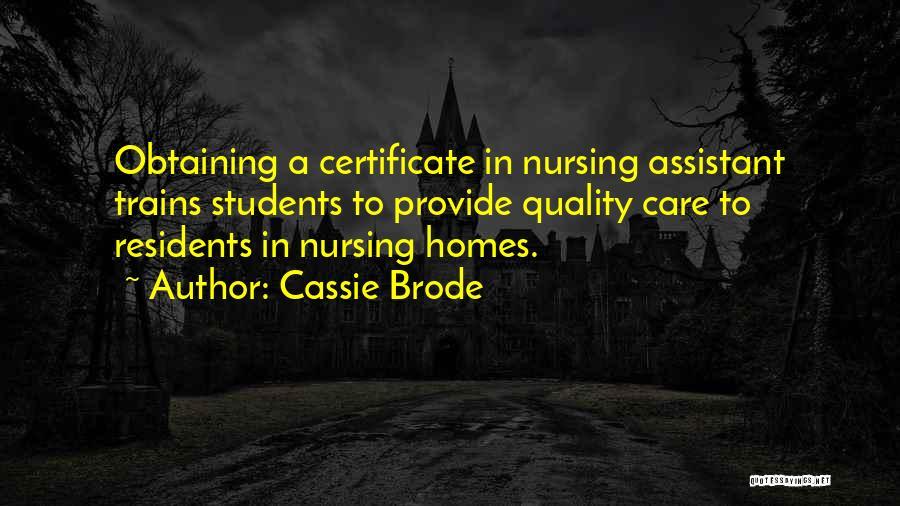 Cassie Brode Quotes 1567893