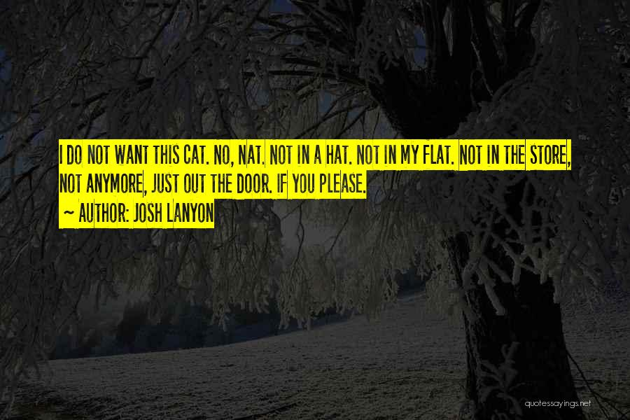 Cat In Hat Quotes By Josh Lanyon