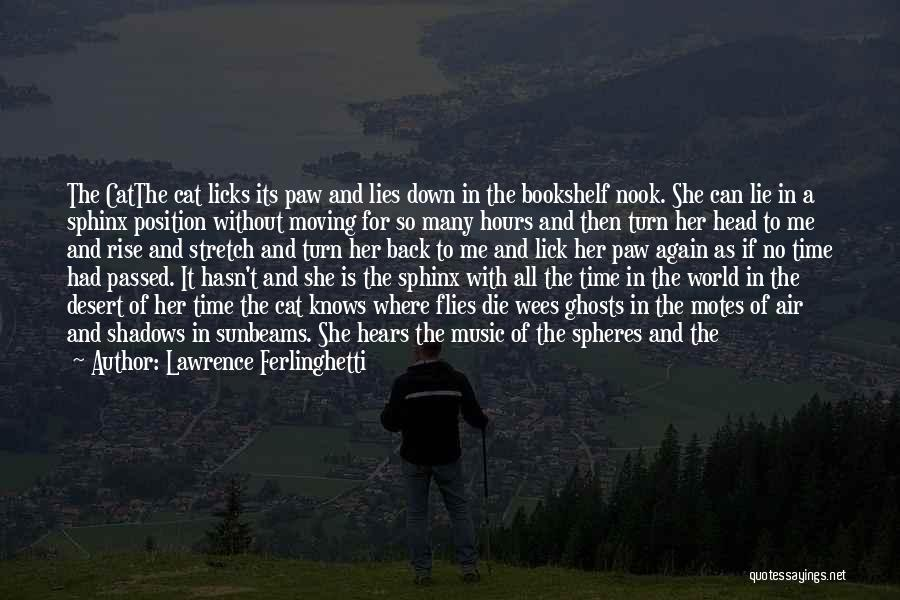 Cat In Hat Quotes By Lawrence Ferlinghetti