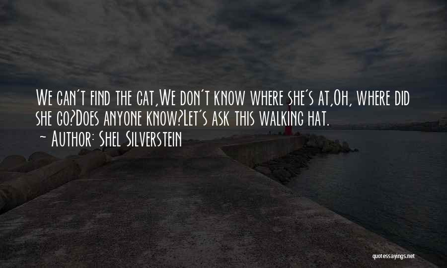 Cat In Hat Quotes By Shel Silverstein