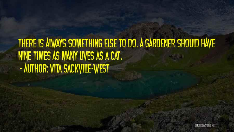 Cat Nine Lives Quotes By Vita Sackville-West