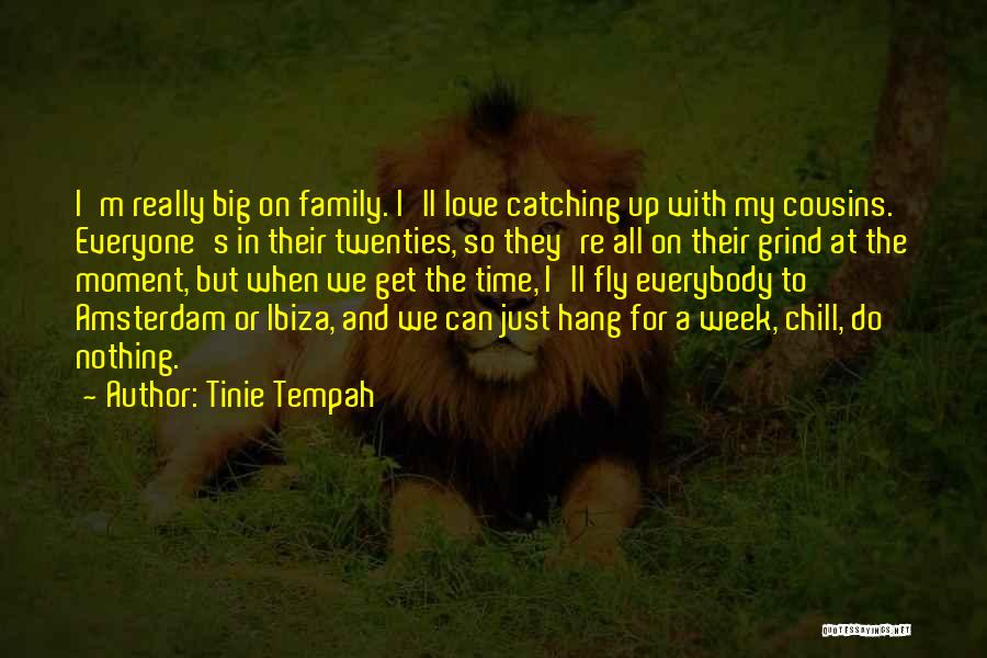 Catching Up With Cousins Quotes By Tinie Tempah