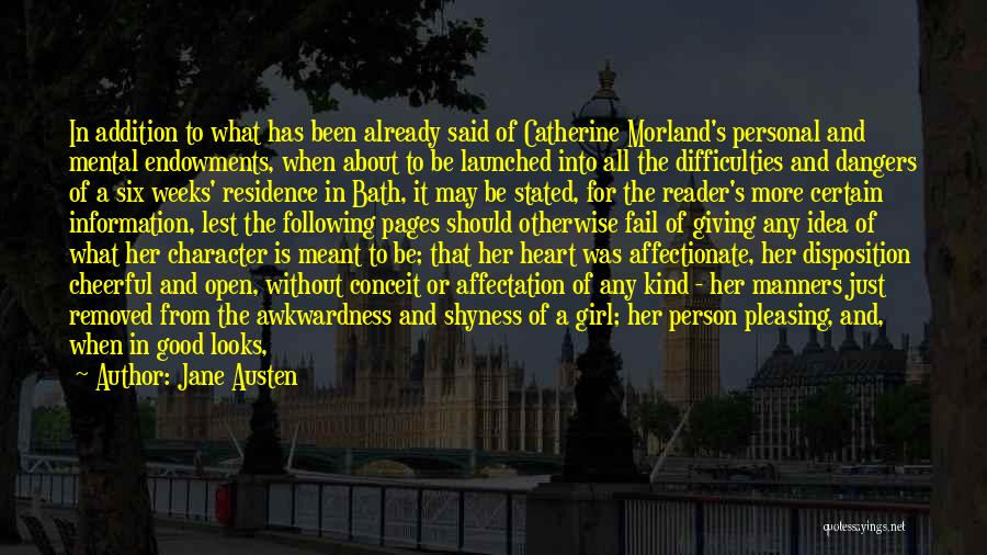 Catherine Morland Quotes By Jane Austen