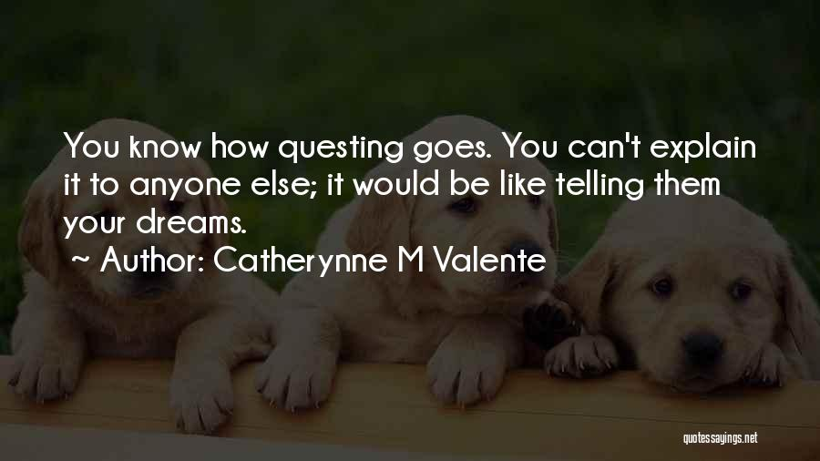 Catherynne M Valente Quotes 550325