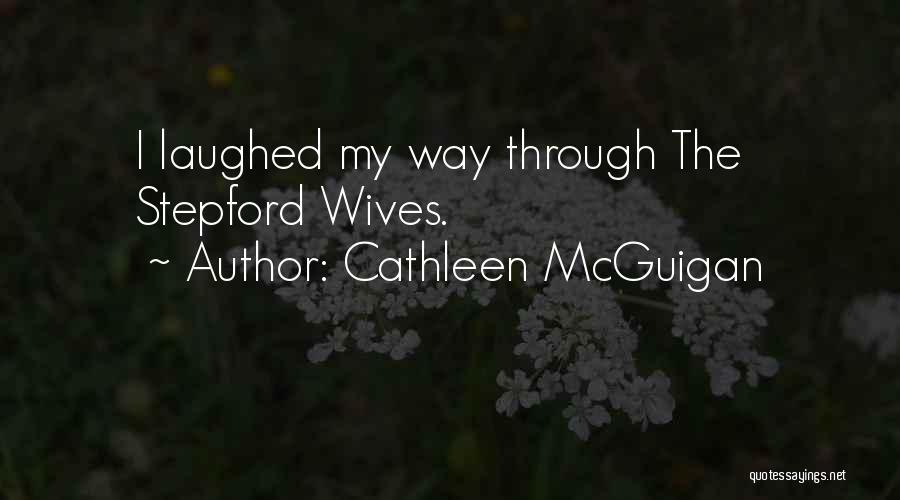 Cathleen McGuigan Quotes 1454755