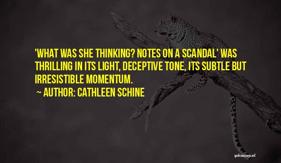 Cathleen Schine Quotes 1788886