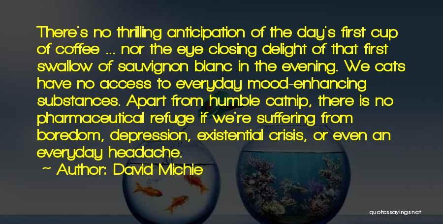 Catnip Quotes By David Michie