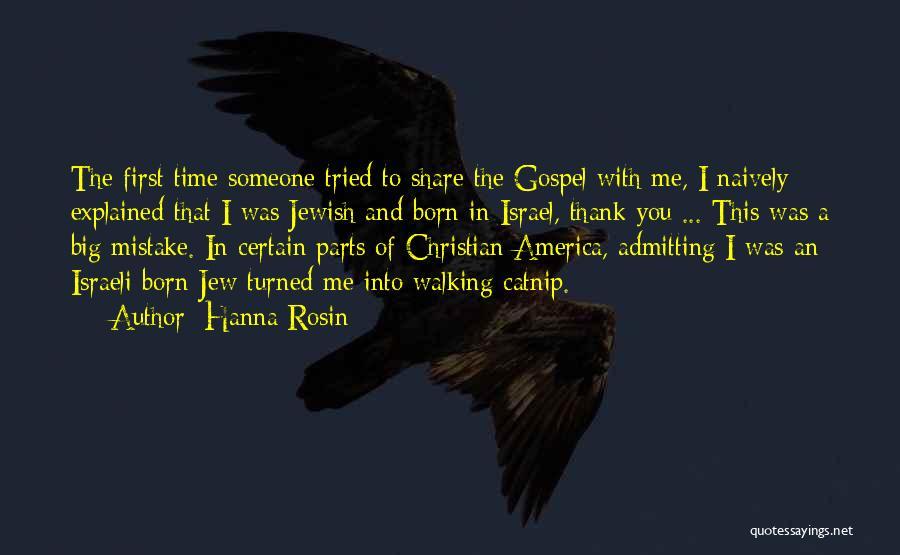Catnip Quotes By Hanna Rosin