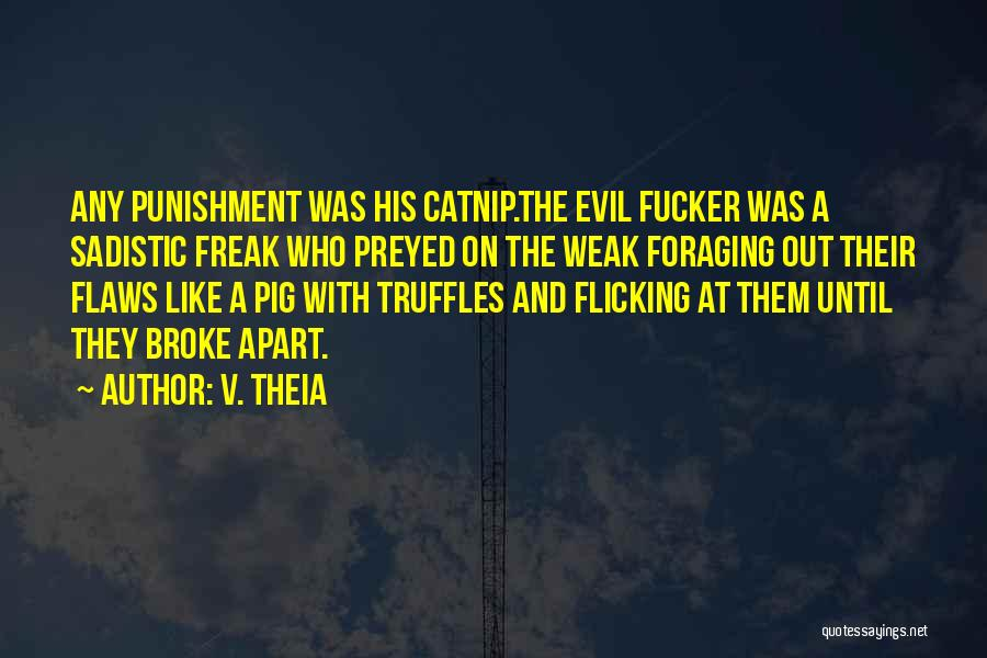 Catnip Quotes By V. Theia