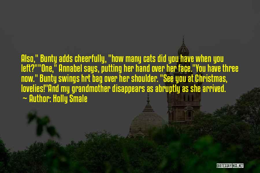 Cats And Christmas Quotes By Holly Smale