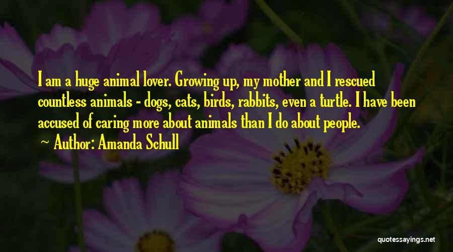Cats And Dogs Quotes By Amanda Schull
