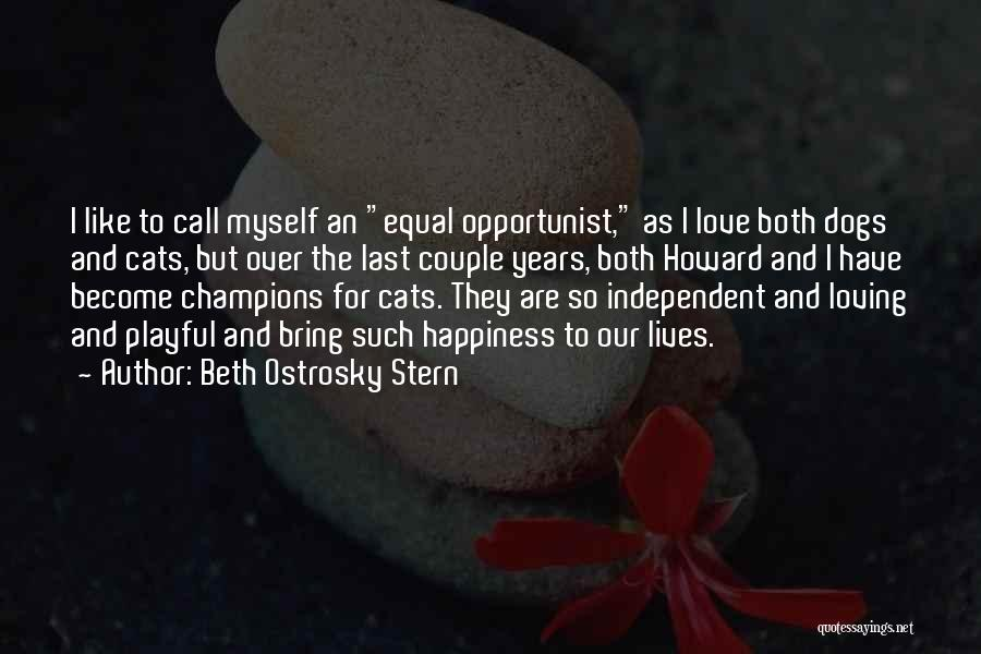 Cats And Dogs Quotes By Beth Ostrosky Stern