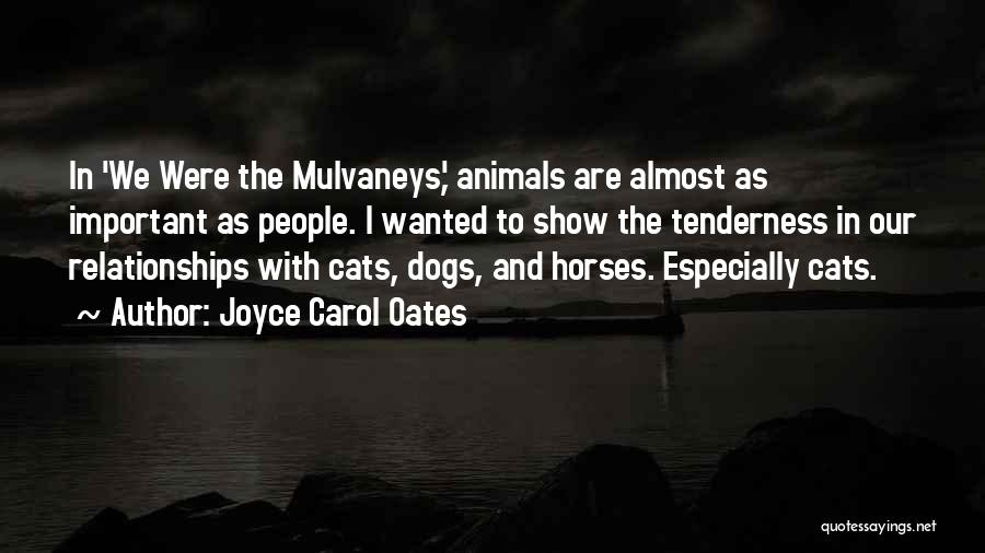 Cats And Dogs Quotes By Joyce Carol Oates