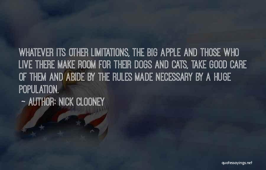 Cats And Dogs Quotes By Nick Clooney