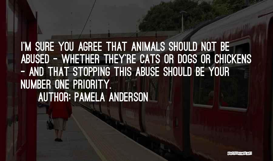 Cats And Dogs Quotes By Pamela Anderson
