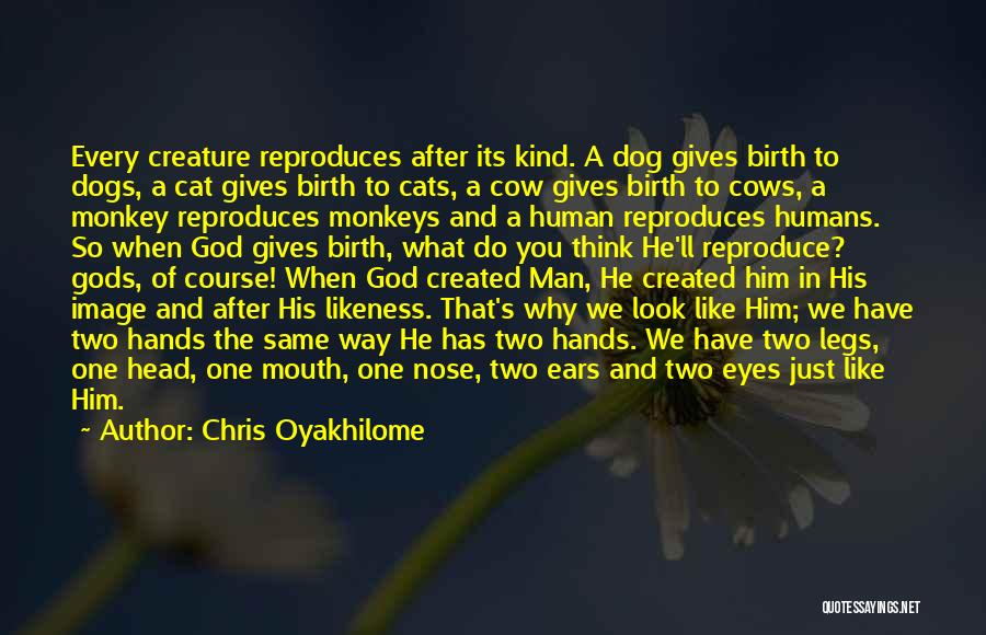 Cats And Humans Quotes By Chris Oyakhilome