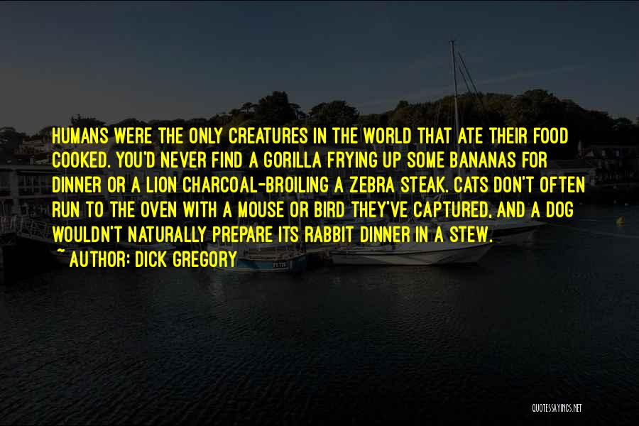 Cats And Humans Quotes By Dick Gregory