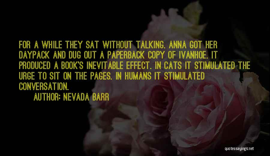 Cats And Humans Quotes By Nevada Barr